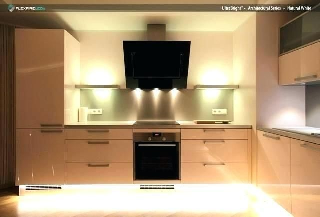 Cabinet Top Lighting Lower Light Dark Of