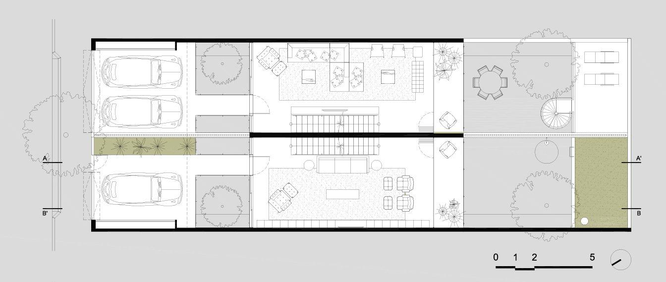 Galeria de Casa Geminada / CR2 Arquitetura - 25 Arch and House