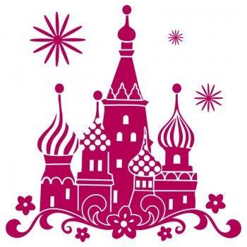 Sticker chambre enfant fille Chateau de Princesse   Stickers Muraux ...