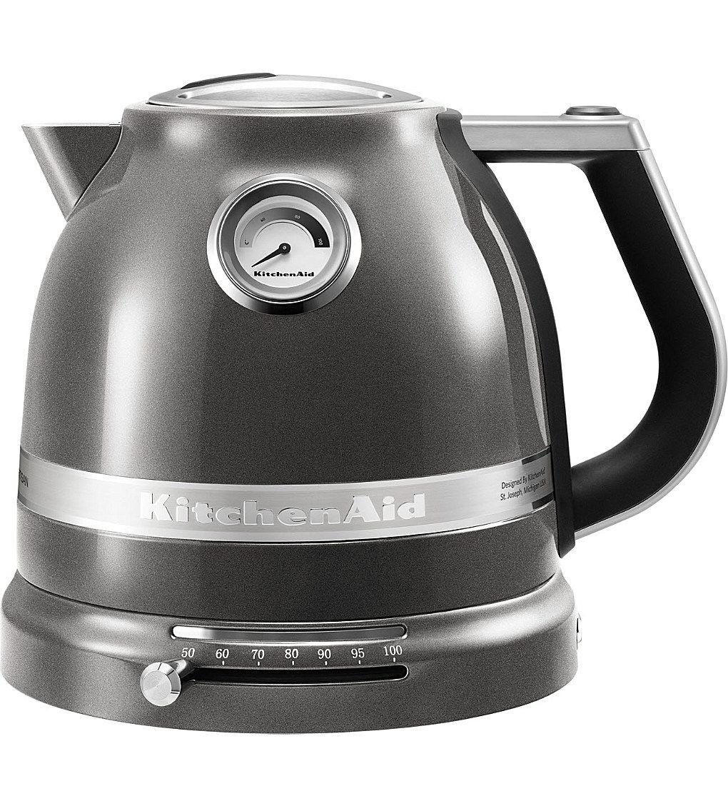 Kitchenaid silver artisan kettle画像あ゚ 赤 水壶