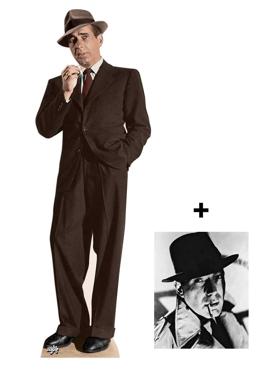 Fan Pack Humphrey Bogart Lifesize Cardboard Cutout Standee Standup Includes 8x10 25x20cm Star Photo Fan Pack 300 You C Cardboard Cutout Cutout Bogart