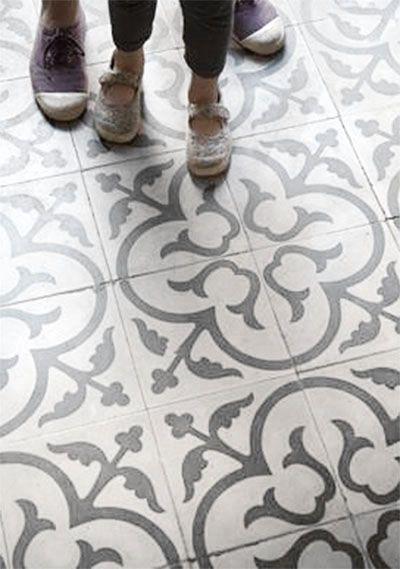 Faux Cement Tile Painted Floors Tile Floor Diy Diy Flooring Tile Bedroom