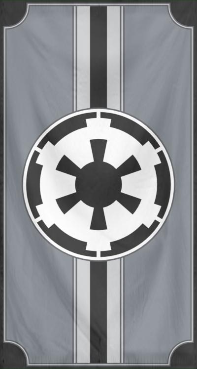 Rippled Banner Galactic Empire Star Wars Pictures Galactic Empire Star Wars Empire