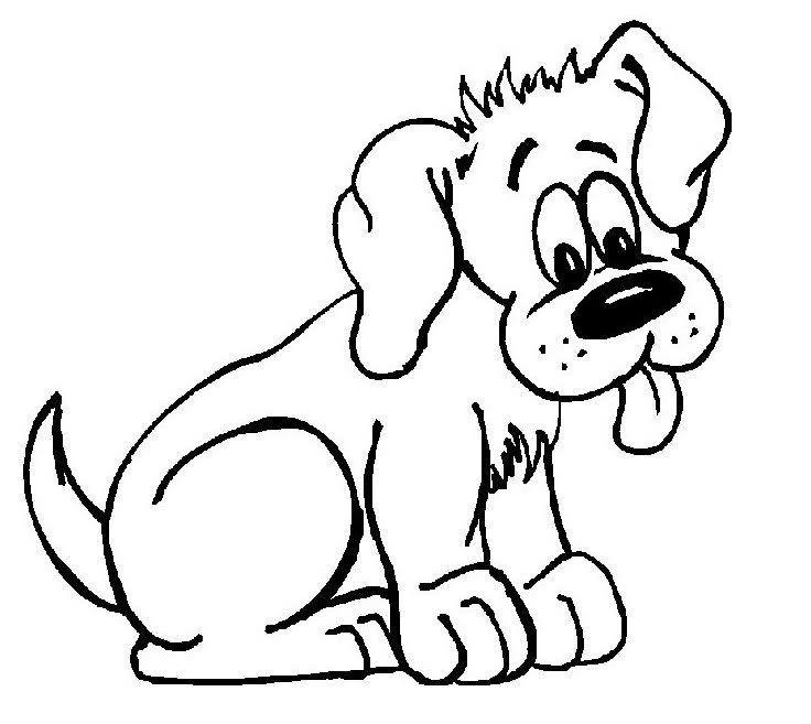 Dibujos de perros para colorear | Embroidery | Pinterest