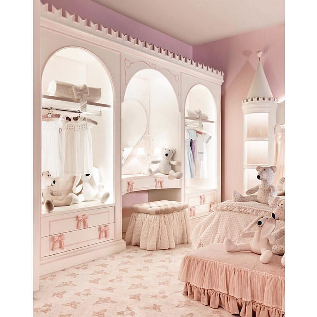 a princess sanctuary with the prettiest details🎀credit to