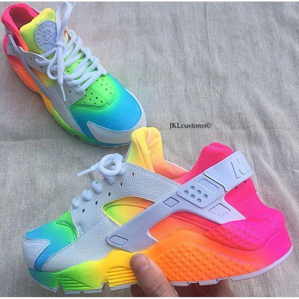 2baa8e8b070 ... Ombre-Neon Summer Nike Air Huarache Unisex Nike Huarache Tie Dye.
