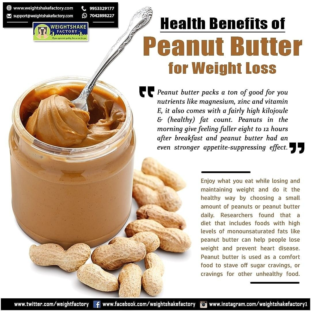is peanut butter good on a diet