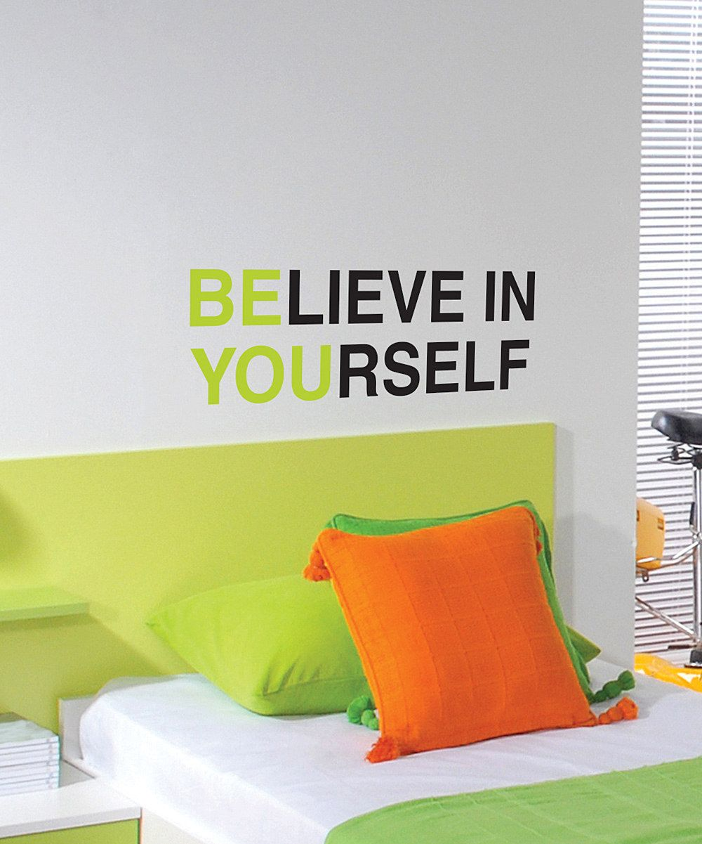 Belvedere Designs Lime & Black \'Be You\' Wall Quote   Ideas for the ...