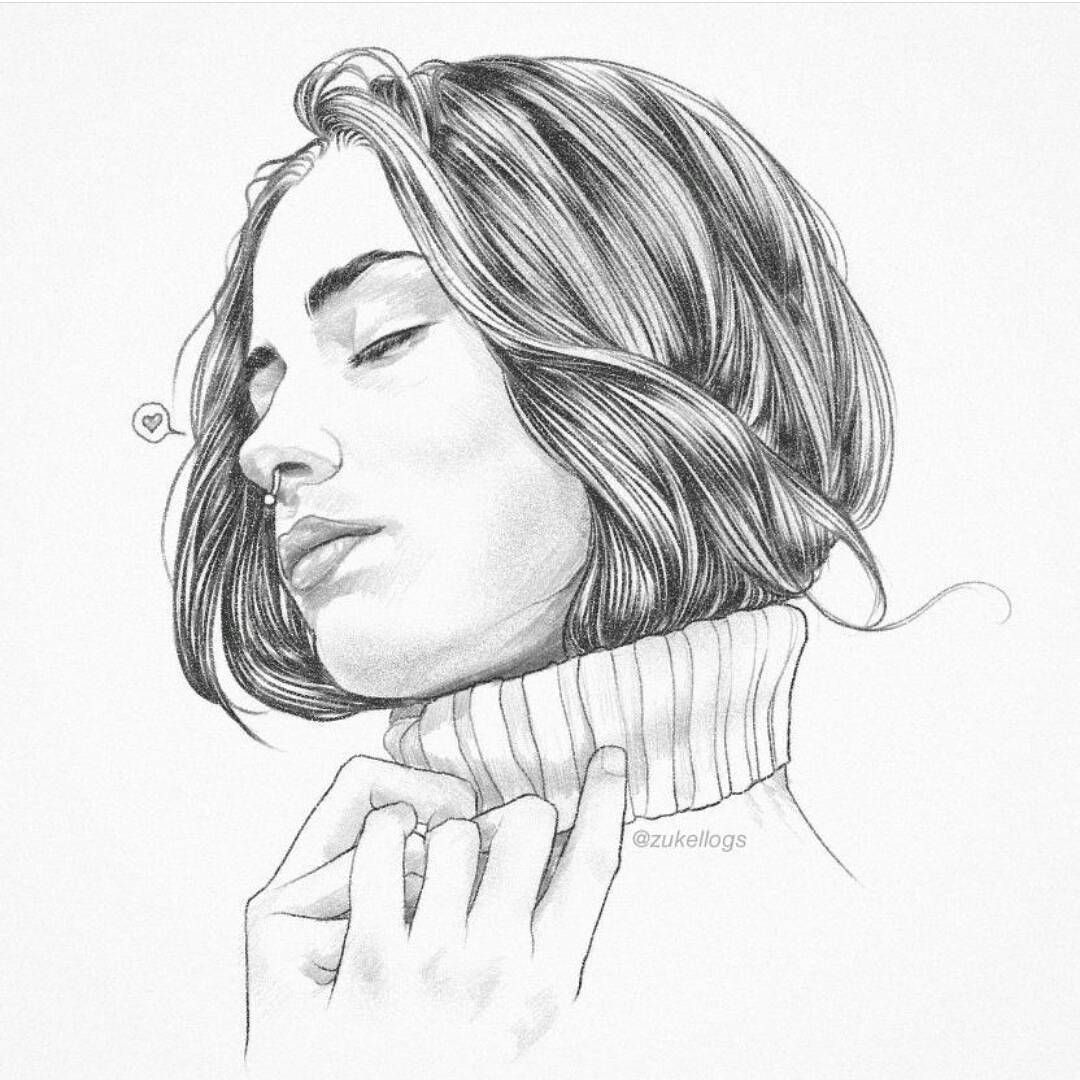 Line Art Styles : Soft wind sketch tbt lucky you mp illustration graphic