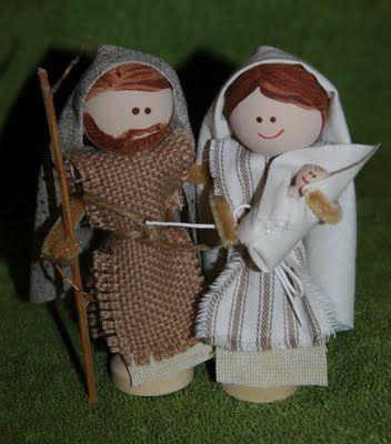DIY Clothespin Nativity Tutorial