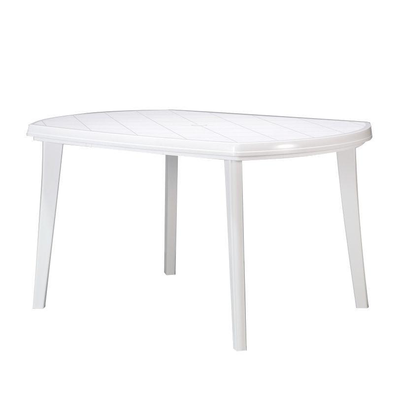Gartentisch Elise - Kunststoff Weiß, Jardin Jetzt bestellen unter ...