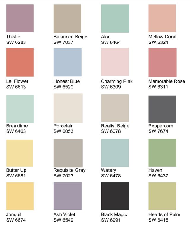 Love These Hgtv Sherwin Williams Paint Colors Via Gina Gab Solórzano Shabby Creek Cottage
