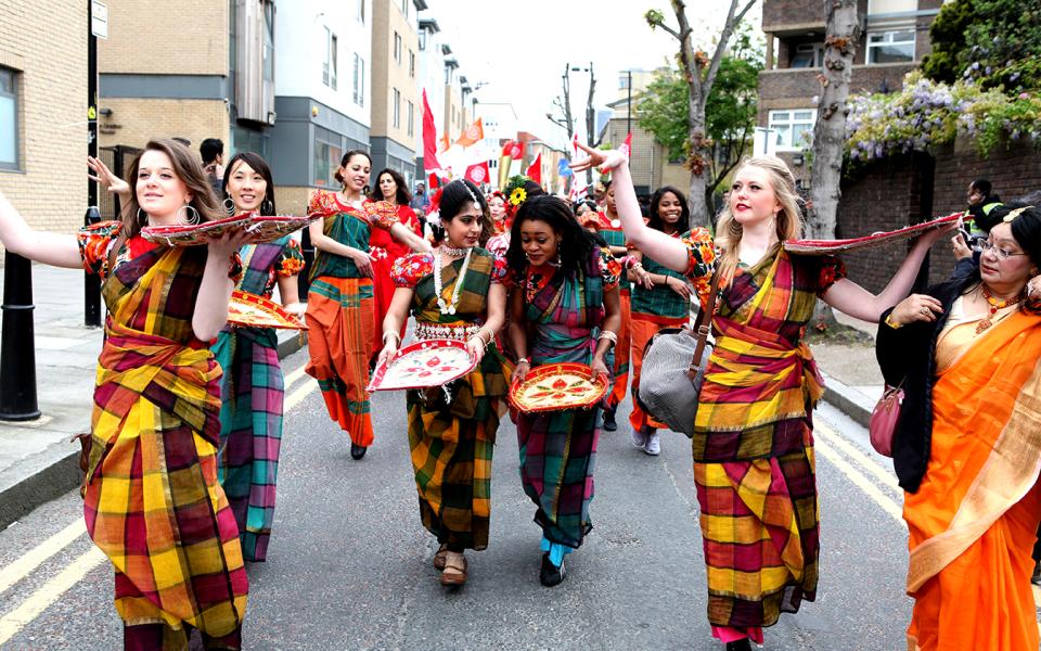 Pohela Boishakh or Bengali new year celebration Bengali