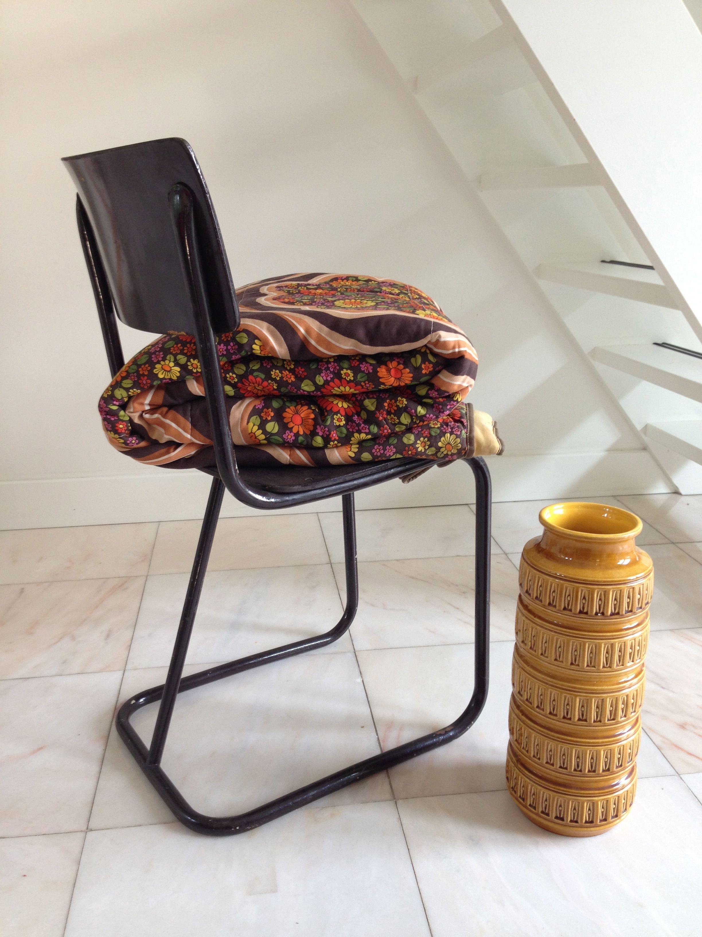 Buisframe Stoelen Vintage.Vintage Buisframe Stoel Vintage Chair West Germany Vaas Huis