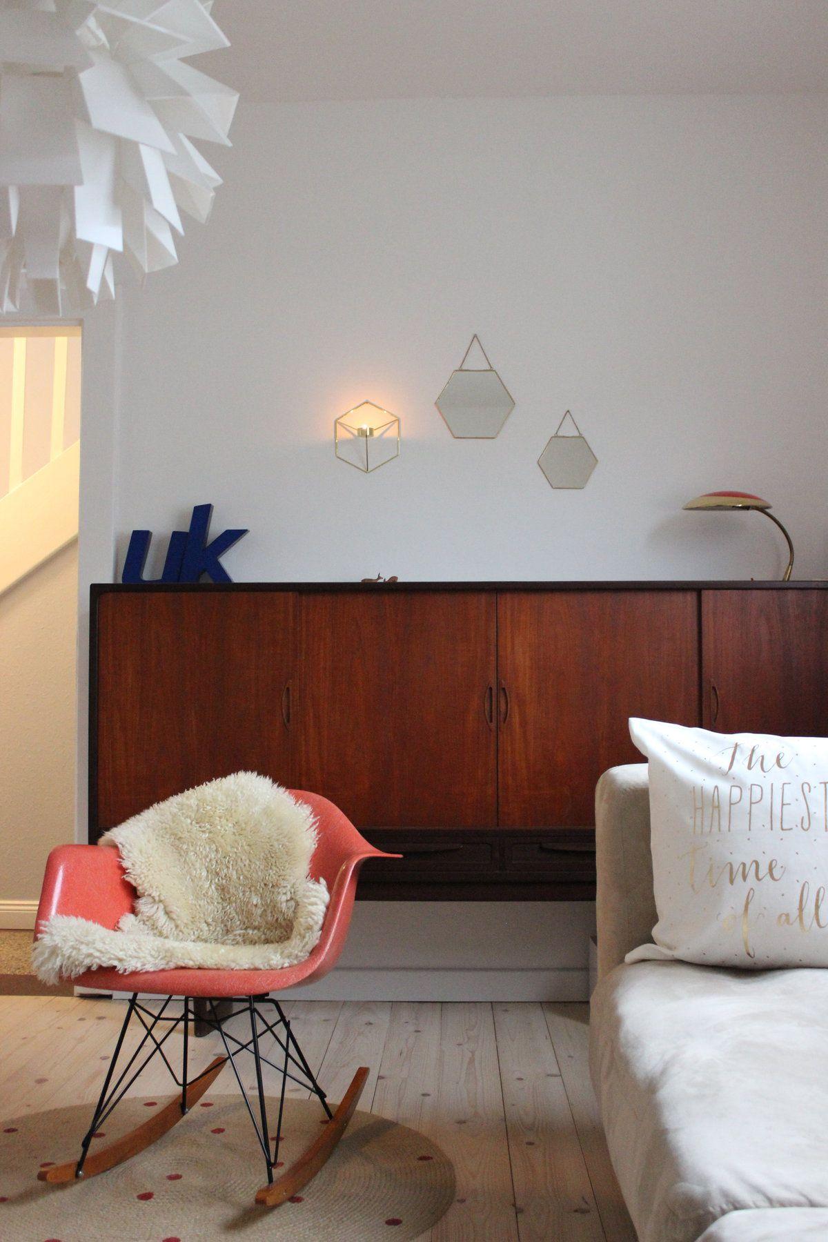 Ein Wenig Goldglanz #interior #einrichtung #dekoration #decoration ... Wohnzimmer Ideen Vintage