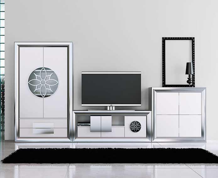 Sal n moderno ainara mobiliario dise o el sal n - Muebles italianos modernos ...