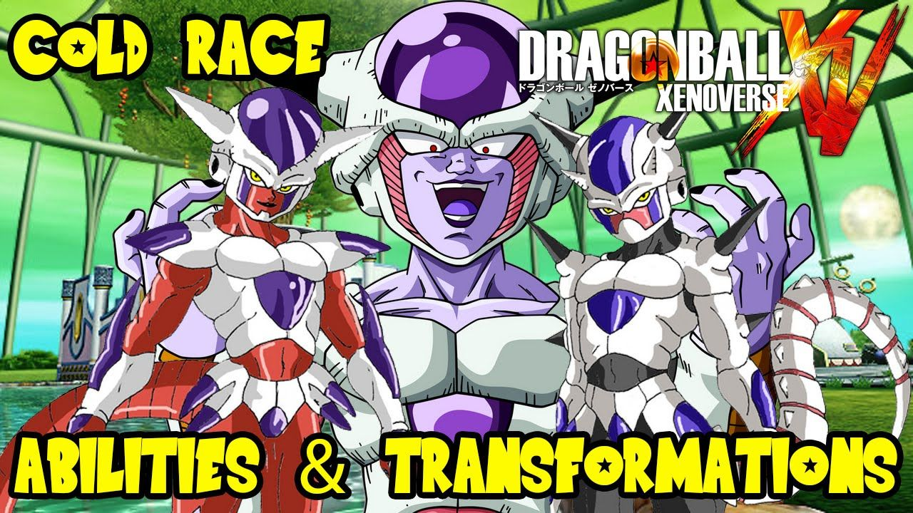 Dragon Ball Xenoverse Theory Discussion Cold Frieza Arcosian Race