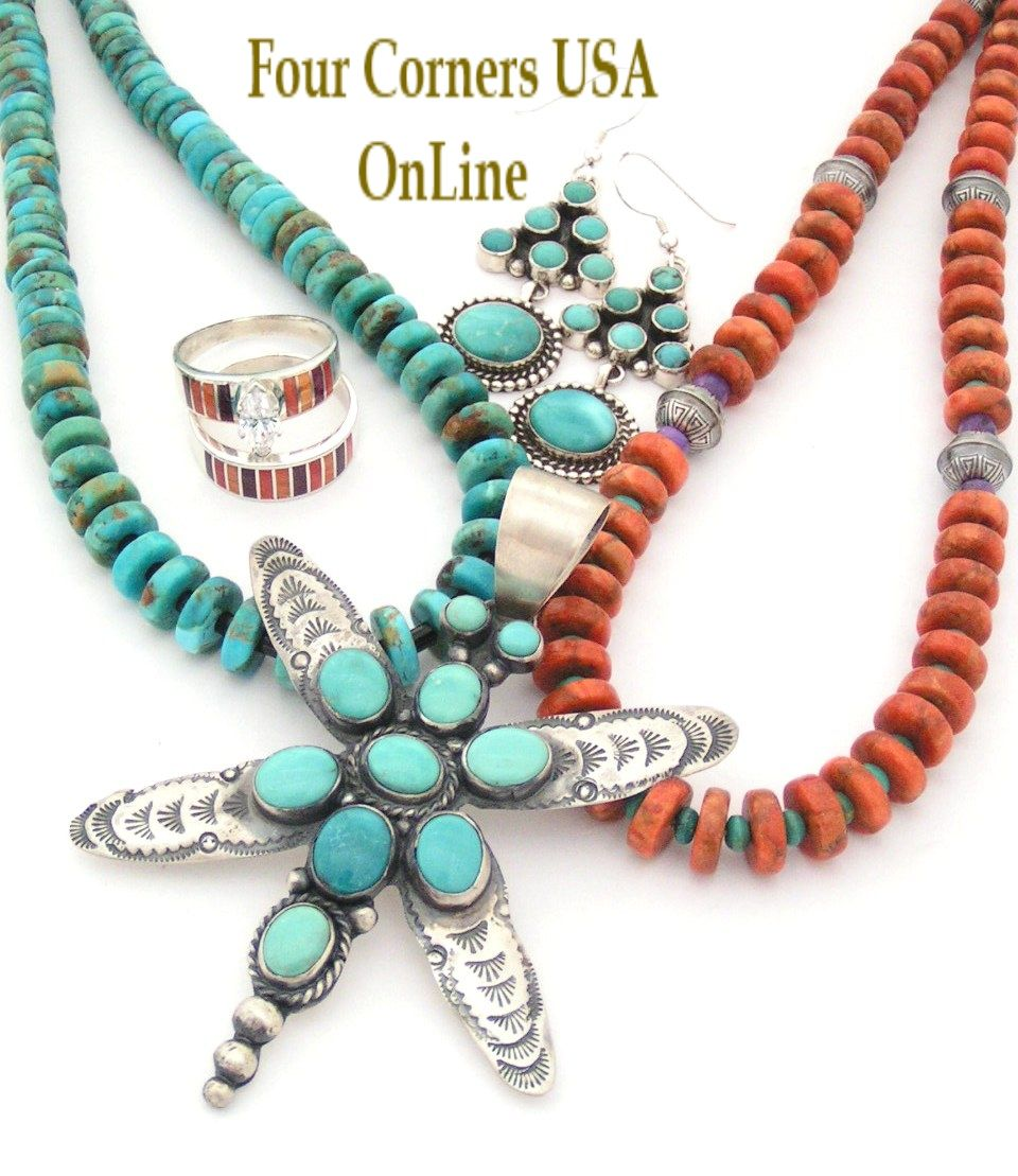 Native American Jewelry - Turquoise Artisan Jewelry ...