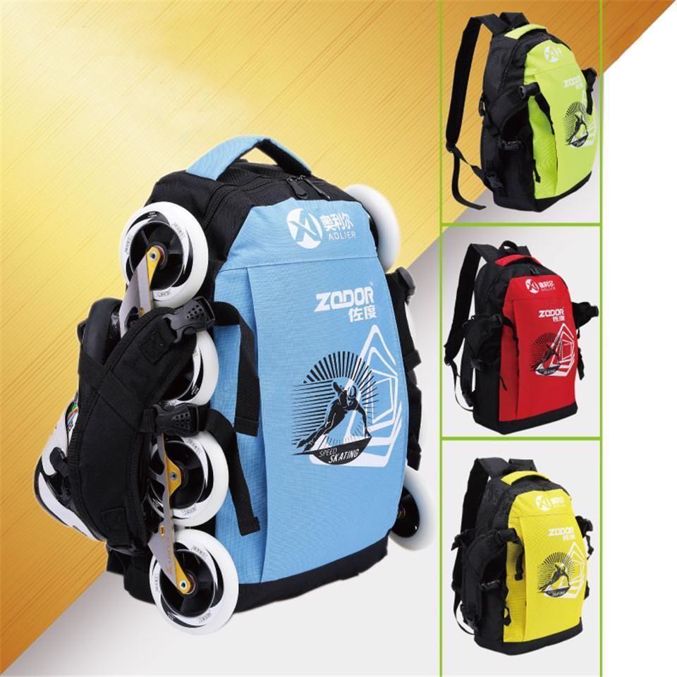 e454f2e3bb3 Roller Skates Shoes Carrying Shoulder Bag Inline Skating Sports Gear  Backpack