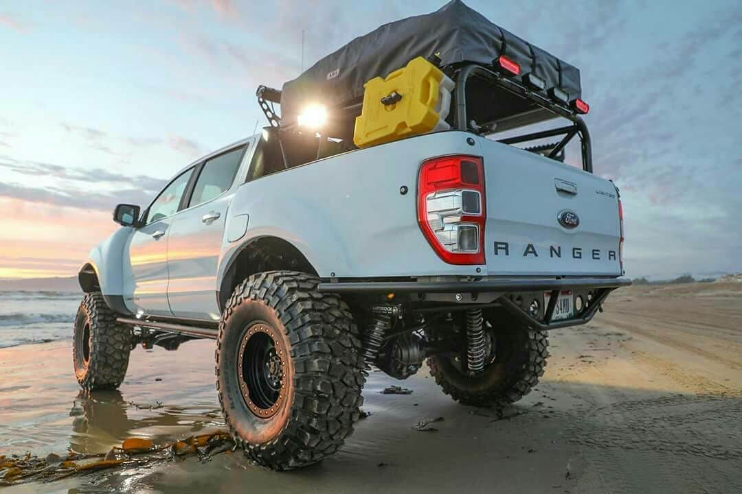 First Ever Modified 2019 Ford Ranger In Usa By Dirtcinema Overland Vehicles Ford Ranger 2019 Ford Ranger
