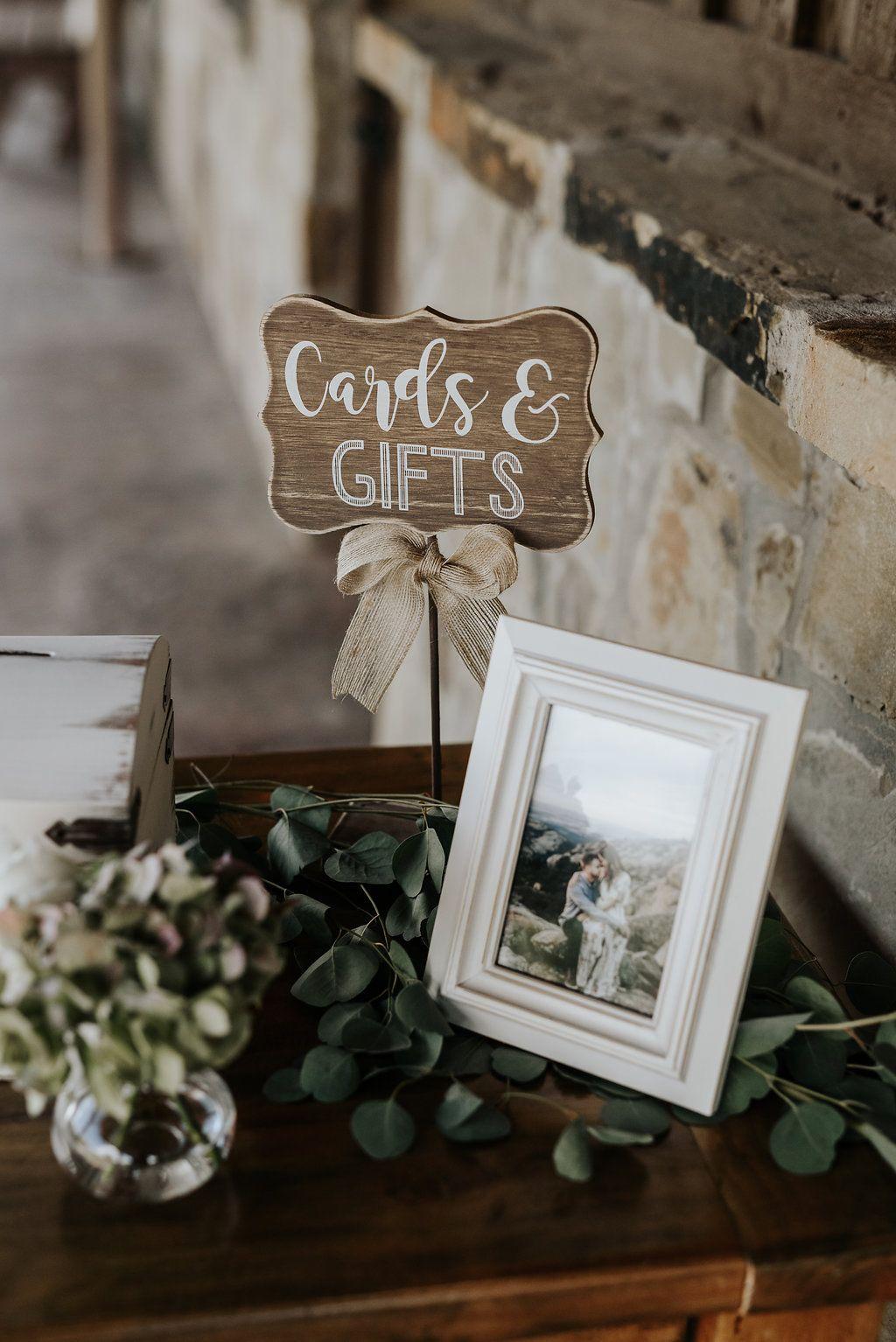 Oklahoma City Wedding Venue In Edmond Gift Table Wedding Wedding Welcome Table Card Table Wedding