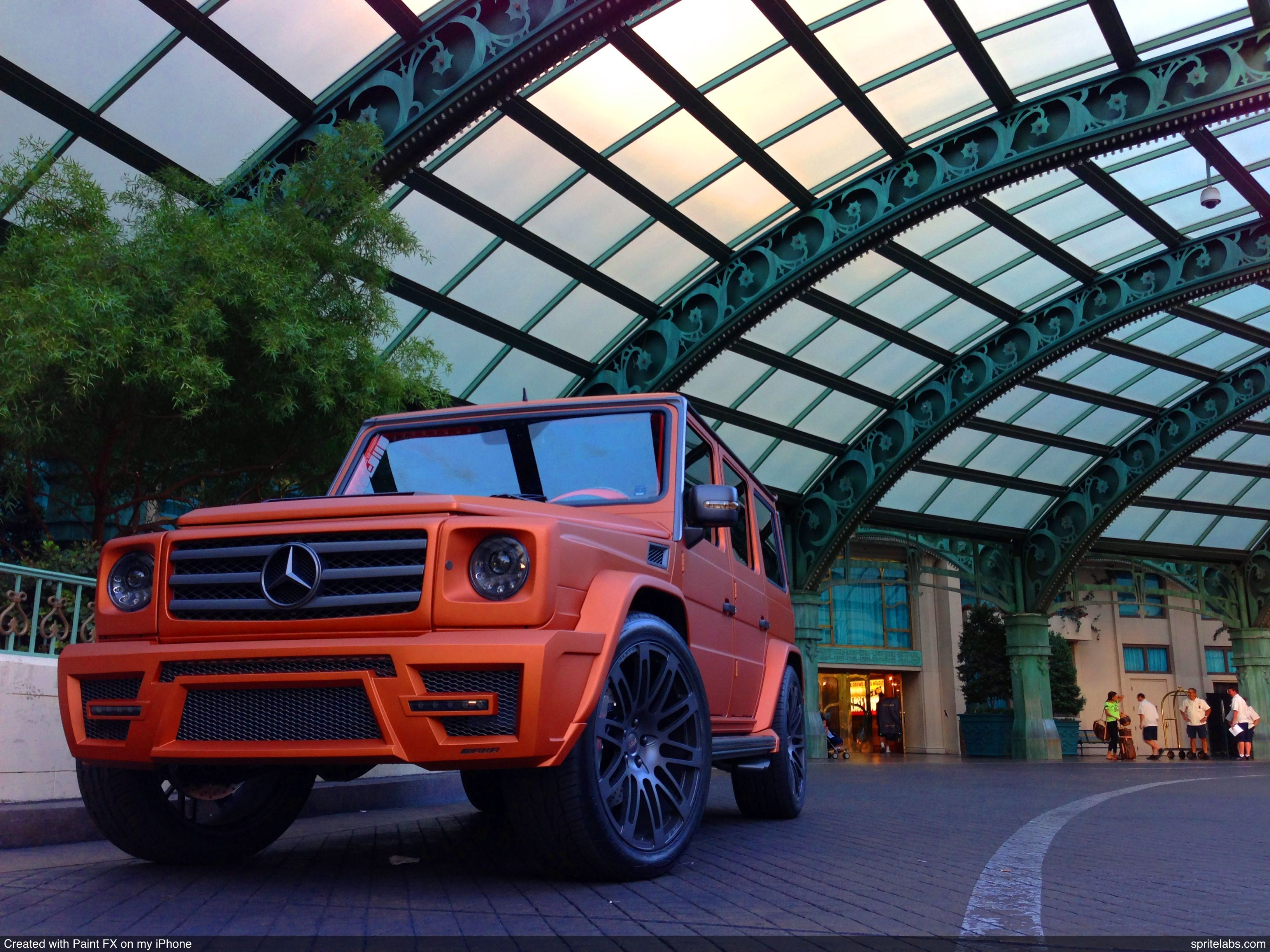 AKA Eurosport Copper Edition G55 Mercedes Benz AMG at