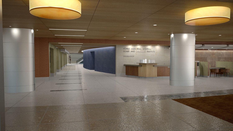 Hoag Memorial Hospital Memorial hospital, Light architecture