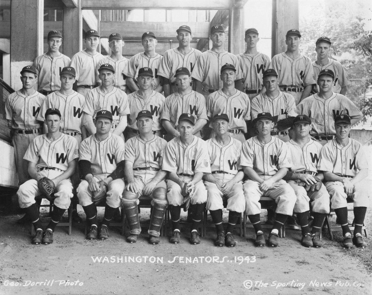 1943 The Sporting News Washington Senators Baseball