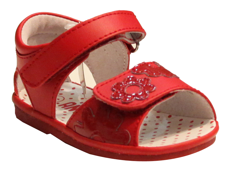 Angel J2040 Red Girls Flower SandalsSandalia Niña De SzUpVM