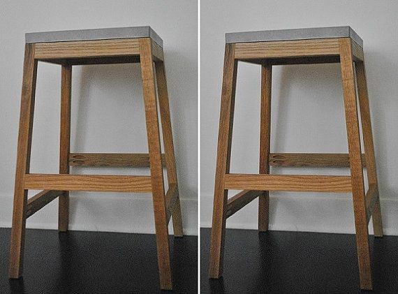 bar chairs concrete spotlight chair covers nz stool by fmcdesign on etsy home is where the art