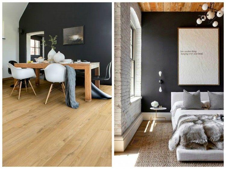 mur-noir-salle-a-manger-chambre-aventuredecojpg (750×563) Idées