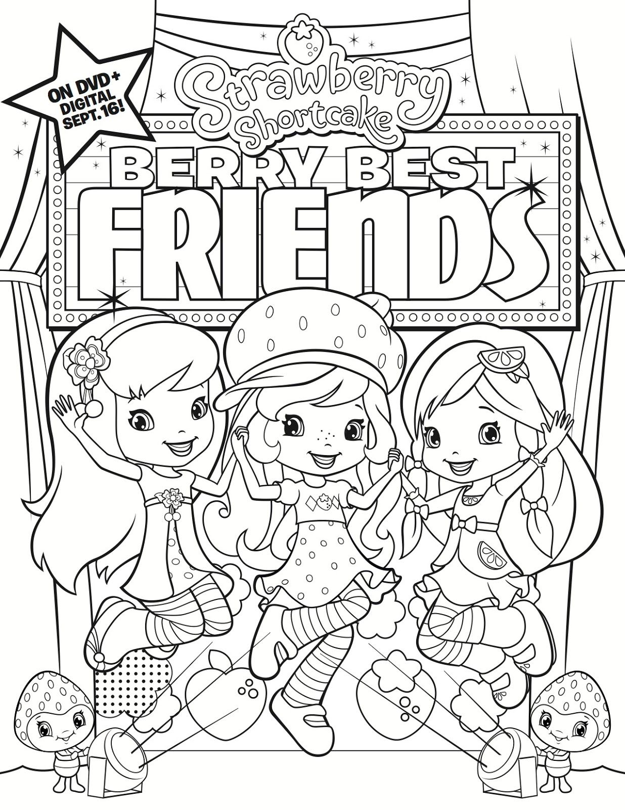 GIVEAWAY: Strawberry Shortcake - Berry Best Friends DVD PLUS a ...