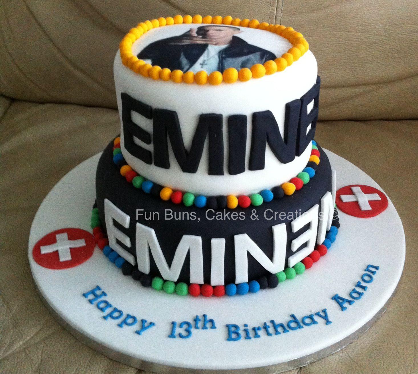 Awesome Eminem Cake Eminem Birthday 18Th Birthday Cake Cake Funny Birthday Cards Online Bapapcheapnameinfo