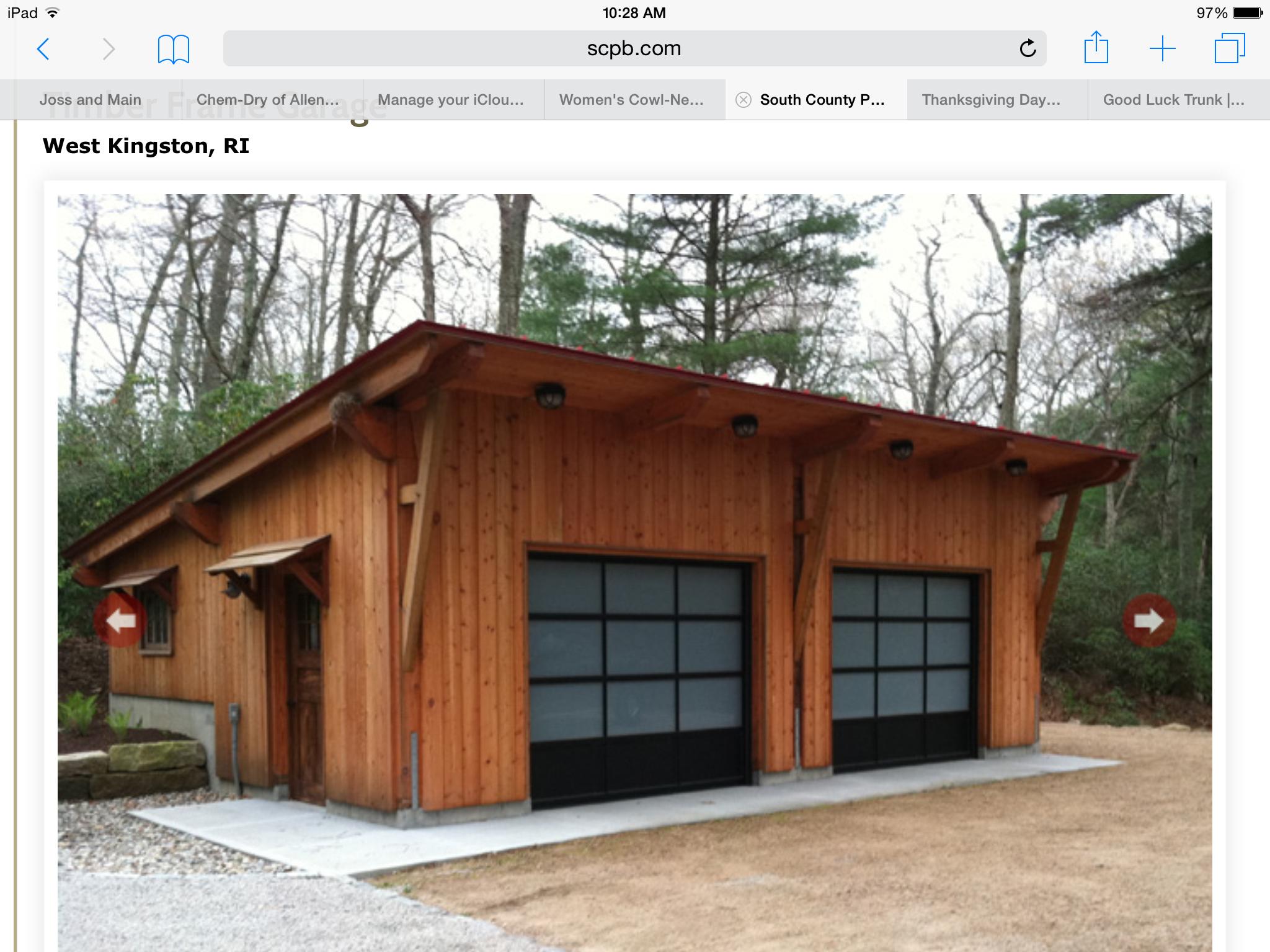 2 Car Detached Garage With Man Cave Above: 40 Best Detached Garage Model For Your Wonderful House