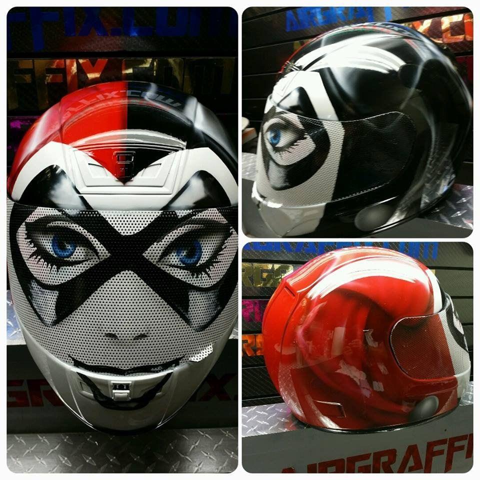 Harley Quinn Motorcycle Sturf Motorcycle Helmets Harley