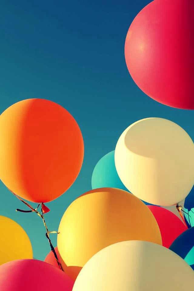 Fun Balloons Wallpaper Background
