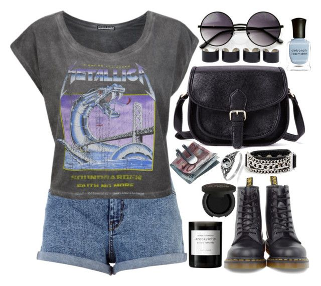 """""""#29 Nothing Else Matters"""" by ccclouds ❤ liked on Polyvore featuring River Island, Prince Peter, Journee Collection, Forever 21, Dr. Martens, Georg Jensen, Deborah Lippmann, GUESS, Maison Margiela and Byredo"""