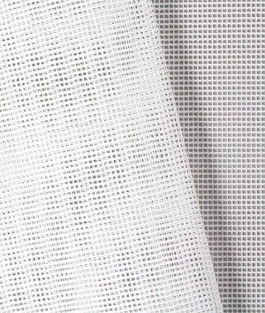 White 9x9 Vinyl Coated Mesh Fabric Vinyl Fabric Mesh Fabric Fabric