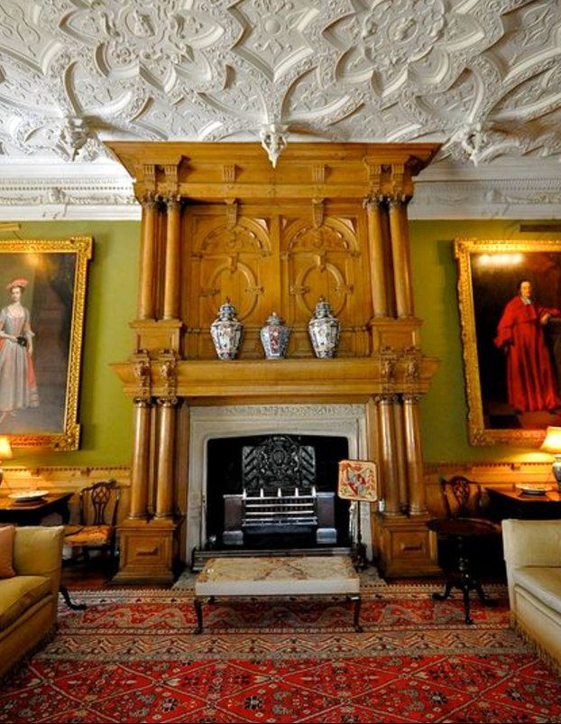 South Drawing Room At Blicking Hall In Norwich Norfolk