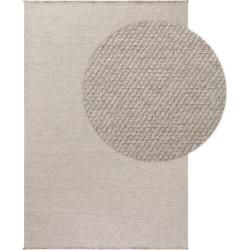Photo of benuta Wollteppich Celia Hellgrau 120×170 cm – Naturfaserteppich aus Wolle benuta