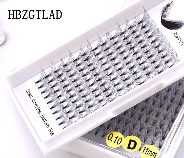 NEW 3D/4D/5D/6D/10D Russian Volume Eyelashes Extension Short Stem