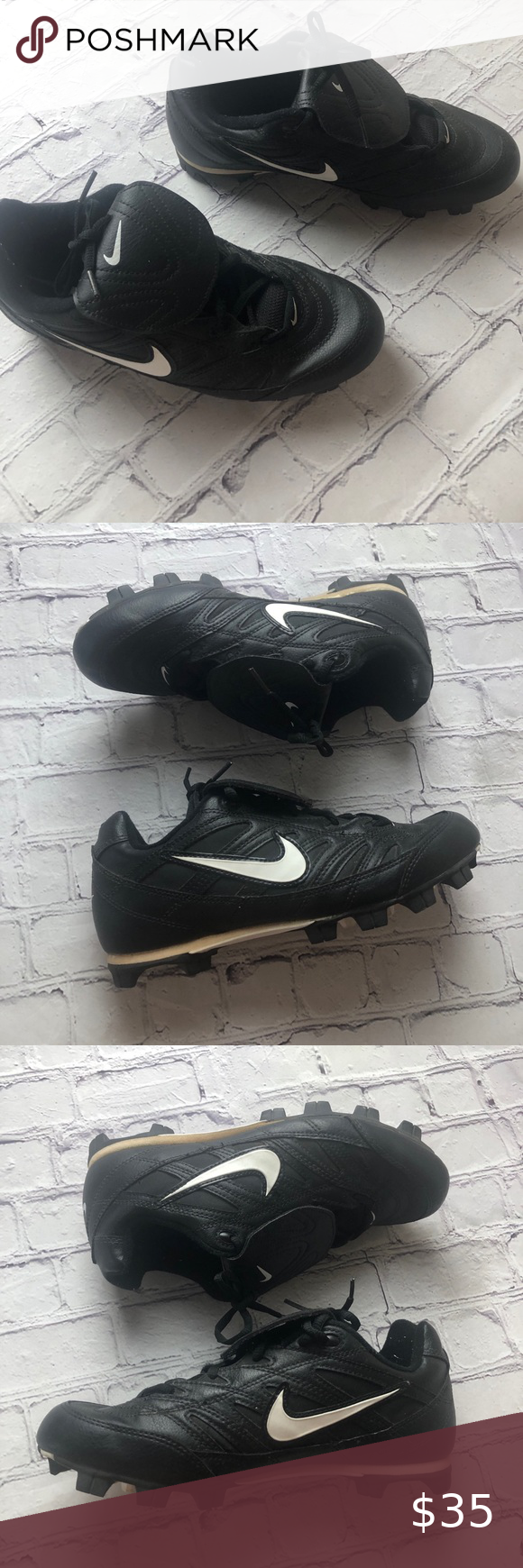 Nike Baseball Cleats Size 8 5 Excellent In 2020 Baseball Cleats Cleats Nike Cleats