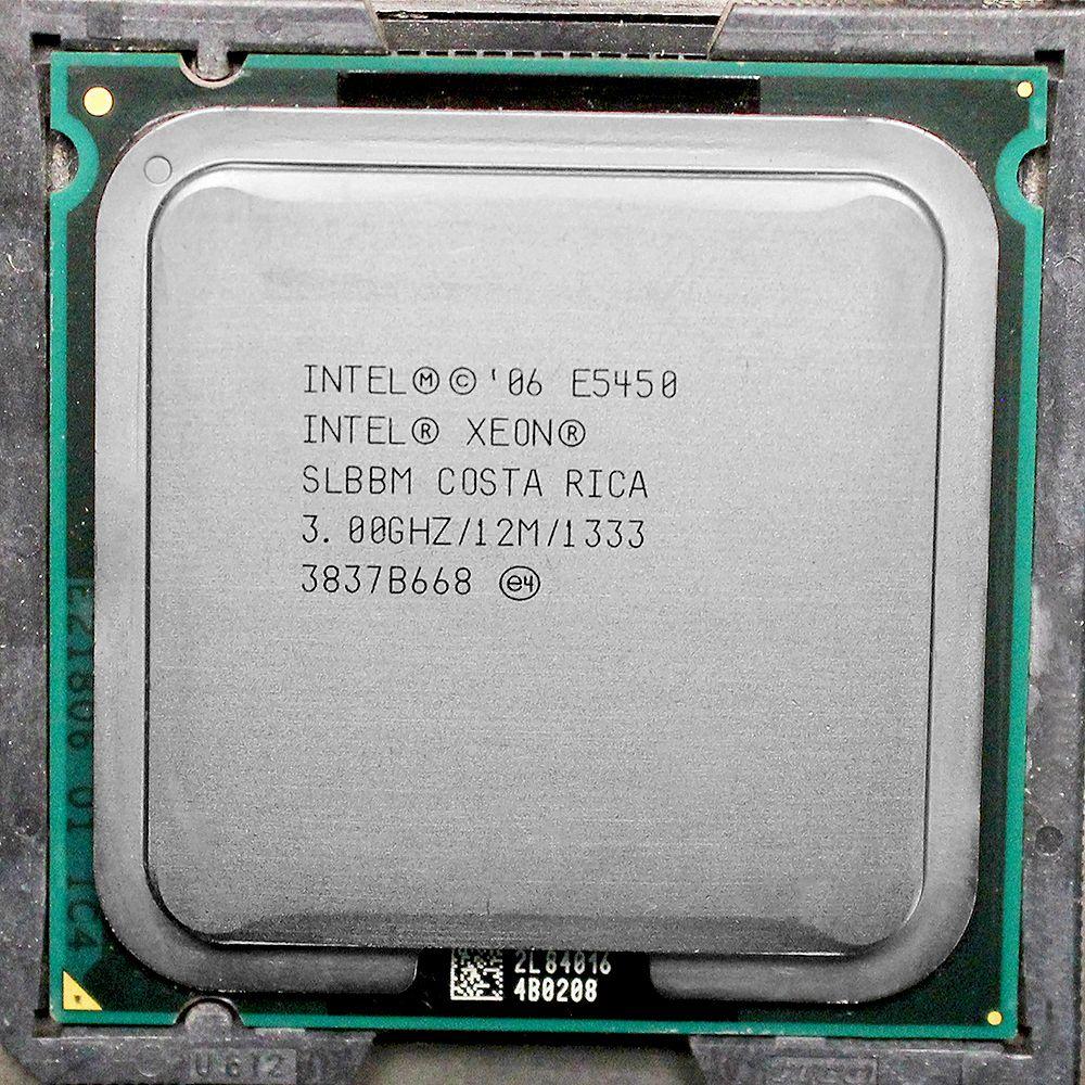 E5450 Processor INTEL XEON E5450 SLBBM SLANQ CPU (3 0GHz