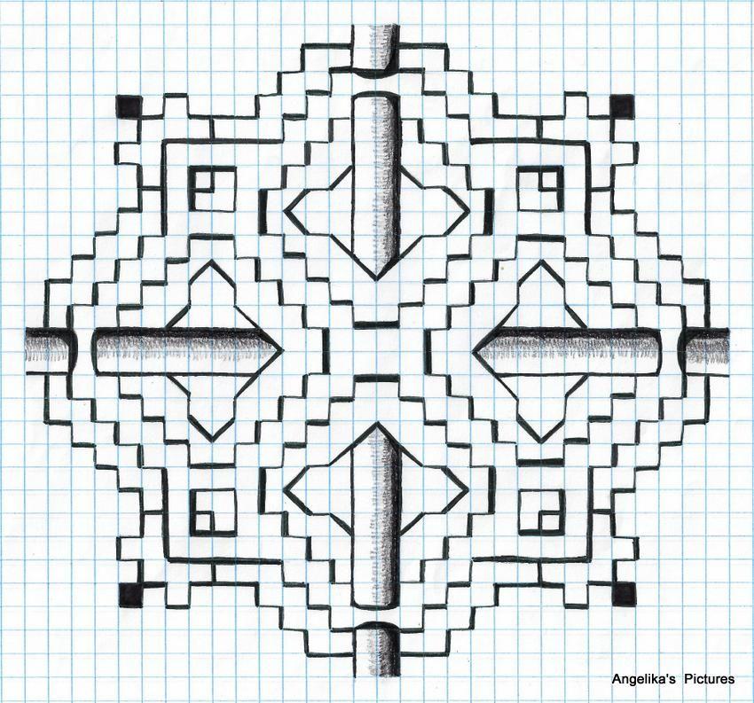 My Own Design Dibujos En Cuadricula Dibujos Hojas Papel