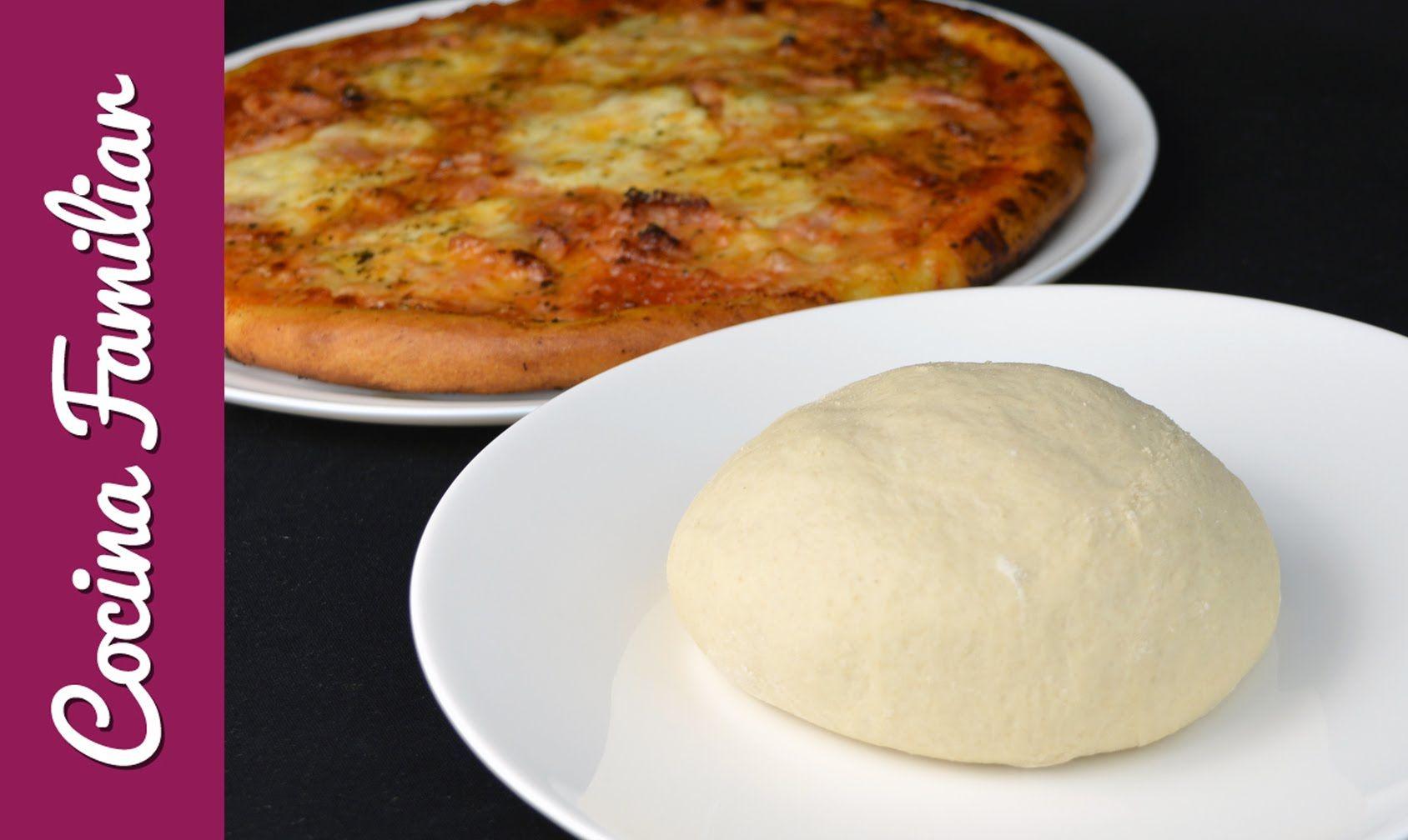 Como Hacer Masa De Pizza Crujiente Y Facil Masa Para Pizza Casera Al Es Masa Para Pizza Masa Para Pizza Italiana Recetas De Comidas Ricas
