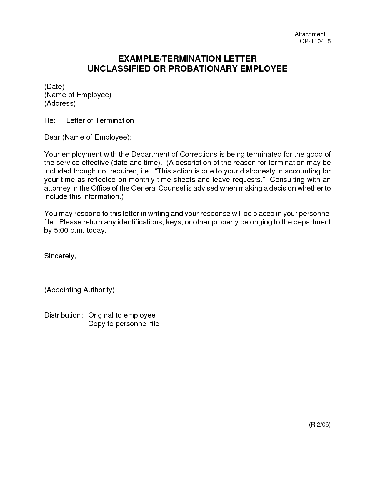 Letter Employment Discharge Agreement Anuvrat Info Template Lab