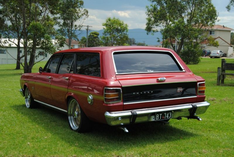 1969 Ford Falcon XW GT Wagon