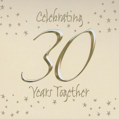 30th Happy Wedding Anniversary Invitations Cards My sweetheart - best of corporate anniversary invitation quotes