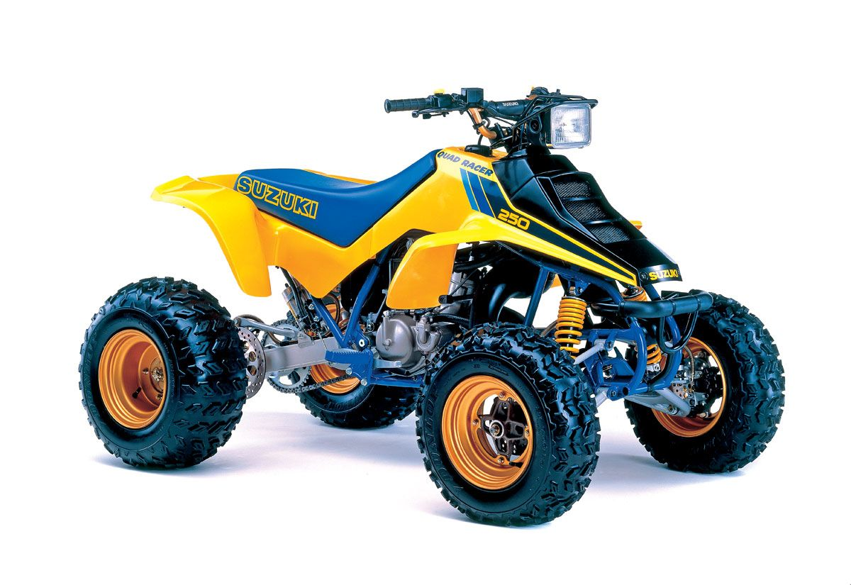 80's quad | UTV Action Magazine | Suzuki ATVs that changed the world!