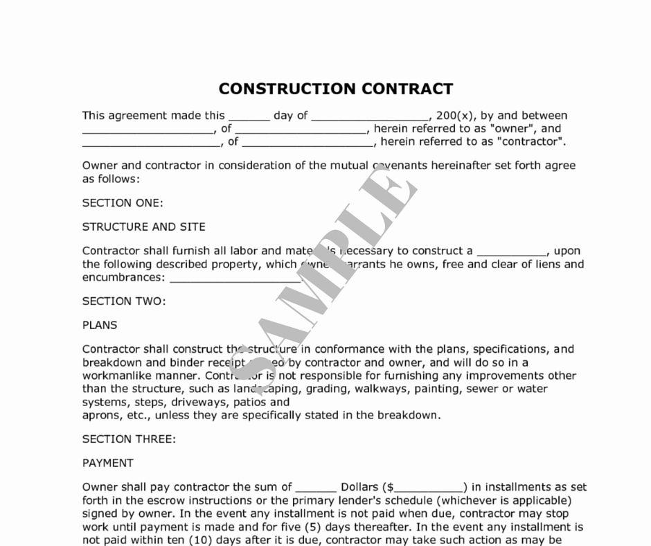 Contract For Construction Work Template Best Of How To Decide The Right Renovation Contractor Kaodi Construction Contract Contract Template Contractor Contract